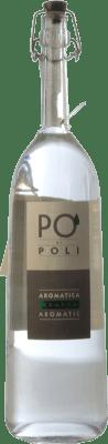 38,95 € Envío gratis | Grappa Poli Traminer Veneto Italia Botella 70 cl