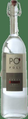 38,95 € Envío gratis | Grappa Poli Veneto Italia Merlot Botella 70 cl