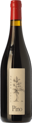 26,95 € Envío gratis | Vino tinto Ponce J. Antonio Pino Crianza D.O. Manchuela Castilla la Mancha España Bobal Botella 75 cl