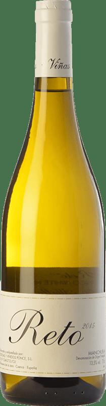 23,95 € Free Shipping | White wine Ponce Reto Crianza D.O. Manchuela Castilla la Mancha Spain Albilla de Manchuela Bottle 75 cl