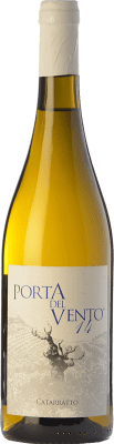 19,95 € Free Shipping | White wine Porta del Vento I.G.T. Terre Siciliane Sicily Italy Catarratto Bottle 75 cl
