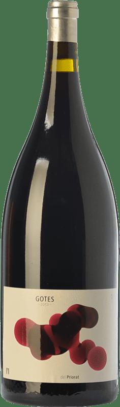 34,95 € Free Shipping | Red wine Portal del Priorat Gotes Crianza D.O.Ca. Priorat Catalonia Spain Grenache, Cabernet Sauvignon, Carignan Magnum Bottle 1,5 L