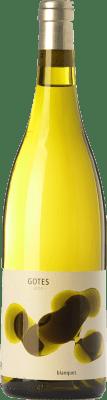 12,95 € Envío gratis | Vino blanco Portal del Priorat Gotes Blanques D.O.Ca. Priorat Cataluña España Garnacha Blanca Botella 75 cl