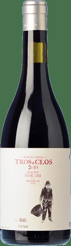 63,95 € Envío gratis | Vino tinto Portal del Priorat Tros de Clos Crianza D.O.Ca. Priorat Cataluña España Cariñena Botella 75 cl