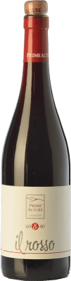 9,95 € Free Shipping | Red wine Prime Alture 60&40 Il Rosso I.G.T. Provincia di Pavia Lombardia Italy Barbera, Croatina Bottle 75 cl | Thousands of wine lovers trust us to get the best price guarantee, free shipping always and hassle-free shopping and returns.