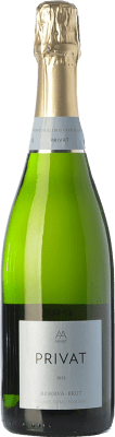 8,95 € Free Shipping | White sparkling Privat Brut Reserva D.O. Cava Catalonia Spain Macabeo, Xarel·lo, Parellada Bottle 75 cl. | Thousands of wine lovers trust us to get the best price guarantee, free shipping always and hassle-free shopping and returns.