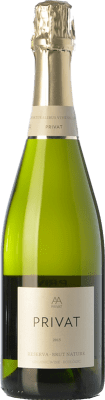 9,95 € Free Shipping | White sparkling Privat Brut Nature Reserva D.O. Cava Catalonia Spain Macabeo, Xarel·lo, Parellada Bottle 75 cl. | Thousands of wine lovers trust us to get the best price guarantee, free shipping always and hassle-free shopping and returns.