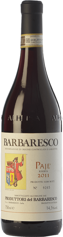 53,95 € Free Shipping   Red wine Produttori del Barbaresco Pajè D.O.C.G. Barbaresco Piemonte Italy Nebbiolo Bottle 75 cl