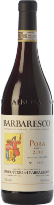 64,95 € Free Shipping | Red wine Produttori del Barbaresco Pora D.O.C.G. Barbaresco Piemonte Italy Nebbiolo Bottle 75 cl