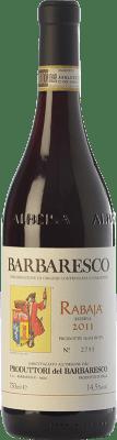 42,95 € Free Shipping | Red wine Produttori del Barbaresco Rabajà D.O.C.G. Barbaresco Piemonte Italy Nebbiolo Bottle 75 cl