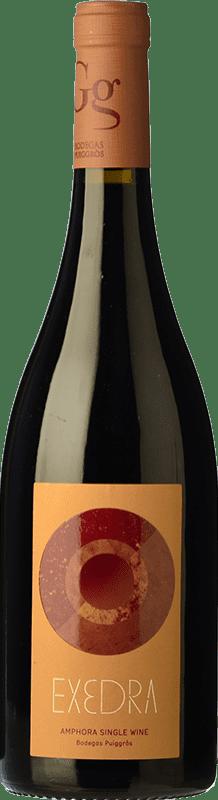 12,95 € Free Shipping | Red wine Puiggròs Exedra Joven D.O. Catalunya Catalonia Spain Grenache Bottle 75 cl