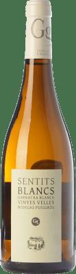29,95 € Free Shipping | White wine Puiggròs Sentits Blancs Crianza D.O. Catalunya Catalonia Spain Grenache White Bottle 75 cl