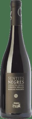 26,95 € Free Shipping | Red wine Puiggròs Sentits Negres Negra Crianza D.O. Catalunya Catalonia Spain Grenache Bottle 75 cl