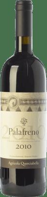 144,95 € Free Shipping | Red wine Querciabella Palafreno I.G.T. Toscana Tuscany Italy Merlot Bottle 75 cl