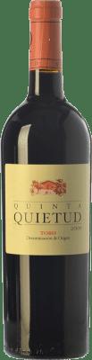 27,95 € Envoi gratuit | Vin rouge Quinta de la Quietud Crianza D.O. Toro Castille et Leon Espagne Tinta de Toro Bouteille 75 cl