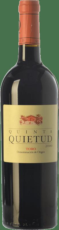 22,95 € Free Shipping | Red wine Quinta de la Quietud Crianza D.O. Toro Castilla y León Spain Tinta de Toro Bottle 75 cl