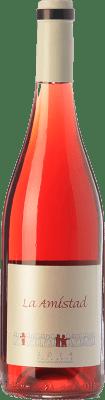 11,95 € Kostenloser Versand | Rotwein Bernabé La Amistad Joven D.O. Alicante Valencianische Gemeinschaft Spanien Rojal Flasche 75 cl