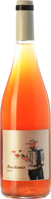 11,95 € Kostenloser Versand | Rosé-Wein Bernabé Musikanto D.O. Alicante Valencianische Gemeinschaft Spanien Grenache Haarig Flasche 75 cl