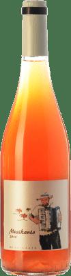 11,95 € Free Shipping | Rosé wine Bernabé Musikanto D.O. Alicante Valencian Community Spain Grenache Hairy Bottle 75 cl