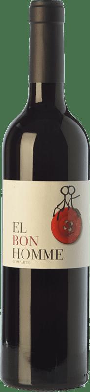 6,95 € Free Shipping | Red wine Rafael Cambra El Bon Homme Joven D.O. Valencia Valencian Community Spain Cabernet Sauvignon, Monastrell Bottle 75 cl