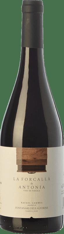 9,95 € Free Shipping | Red wine Rafael Cambra La Forcallà de Antonia Joven D.O. Valencia Valencian Community Spain Forcayat del Arco Bottle 75 cl