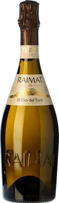 9,95 € Envoi gratuit | Blanc moussant Raimat El Cim del Turó Brut Nature D.O. Cava Catalogne Espagne Pinot Noir, Chardonnay Bouteille 75 cl