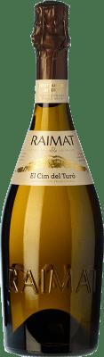 13,95 € Free Shipping | White sparkling Raimat El Cim del Turó Brut Nature D.O. Cava Catalonia Spain Pinot Black, Chardonnay Bottle 75 cl