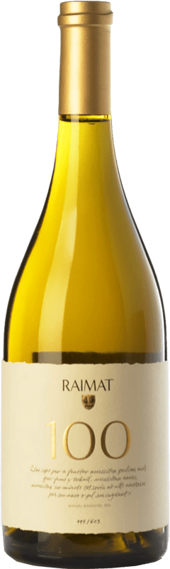 38,95 € Free Shipping   White wine Raimat 100 D.O. Costers del Segre Catalonia Spain Xarel·lo, Chardonnay Bottle 75 cl