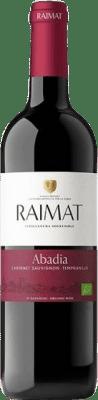 8,95 € Free Shipping | Red wine Raimat Abadia Crianza D.O. Costers del Segre Catalonia Spain Tempranillo, Cabernet Sauvignon Bottle 75 cl