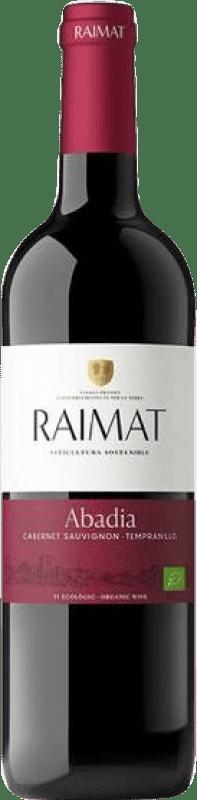 6,95 € Envoi gratuit | Vin rouge Raimat Abadia Crianza D.O. Costers del Segre Catalogne Espagne Tempranillo, Cabernet Sauvignon Bouteille 75 cl