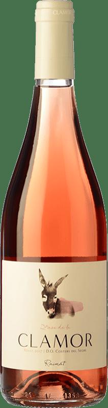 5,95 € Envoi gratuit | Vin rose Raimat Clamor Joven D.O. Costers del Segre Catalogne Espagne Merlot, Cabernet Sauvignon Bouteille 75 cl