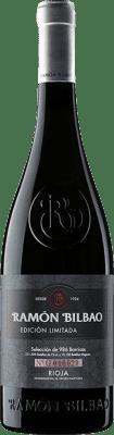 14,95 € Envio grátis | Vinho tinto Ramón Bilbao Edición Limitada Crianza D.O.Ca. Rioja La Rioja Espanha Tempranillo Garrafa 75 cl