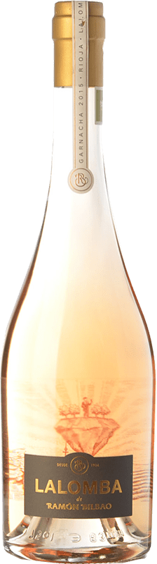 23,95 € Free Shipping | Rosé wine Ramón Bilbao Lalomba D.O.Ca. Rioja The Rioja Spain Grenache, Viura Bottle 75 cl