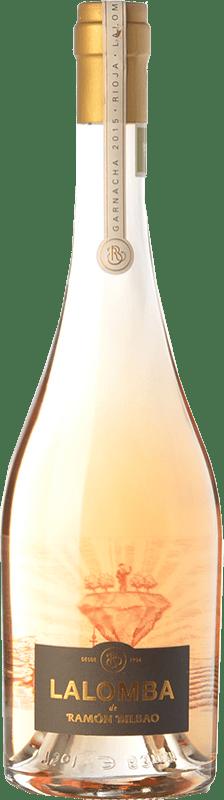 23,95 € Spedizione Gratuita | Vino rosato Ramón Bilbao Lalomba D.O.Ca. Rioja La Rioja Spagna Grenache, Viura Bottiglia 75 cl