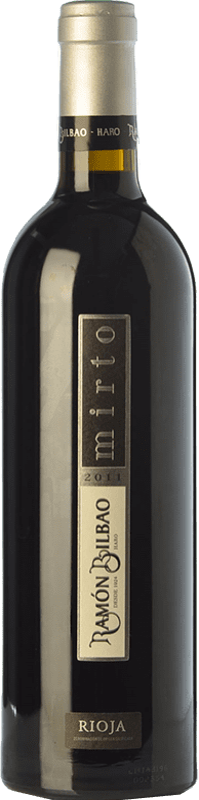 34,95 € Envoi gratuit | Vin rouge Ramón Bilbao Mirto Reserva D.O.Ca. Rioja La Rioja Espagne Tempranillo Bouteille 75 cl