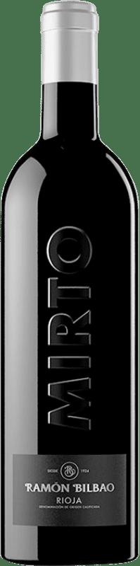 39,95 € Spedizione Gratuita | Vino rosso Ramón Bilbao Mirto Reserva D.O.Ca. Rioja La Rioja Spagna Tempranillo Bottiglia 75 cl
