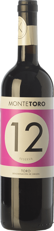 13,95 € Envoi gratuit   Vin rouge Ramón Ramos Monte Toro Reserva D.O. Toro Castille et Leon Espagne Tinta de Toro Bouteille 75 cl