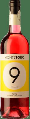 4,95 € Envío gratis | Vino rosado Ramón Ramos Monte Joven D.O. Toro Castilla y León España Garnacha, Tinta de Toro Botella 75 cl
