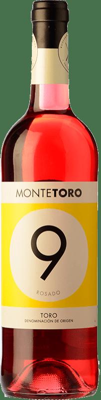 3,95 € Free Shipping | Rosé wine Ramón Ramos Monte Joven D.O. Toro Castilla y León Spain Grenache, Tinta de Toro Bottle 75 cl