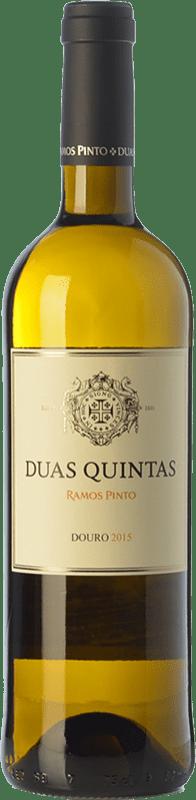 13,95 € Envío gratis | Vino blanco Ramos Pinto Duas Quintas I.G. Douro Douro Portugal Rabigato, Viosinho, Arinto Botella 75 cl