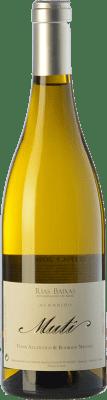 28,95 € Free Shipping | White wine Raúl Pérez Muti Crianza D.O. Rías Baixas Galicia Spain Albariño Bottle 75 cl