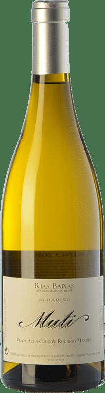 28,95 € Envoi gratuit | Vin blanc Raúl Pérez Muti Crianza D.O. Rías Baixas Galice Espagne Albariño Bouteille 75 cl