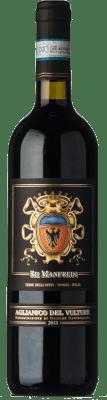 25,95 € Free Shipping | Red wine Re Manfredi D.O.C. Aglianico del Vulture Basilicata Italy Aglianico Bottle 75 cl