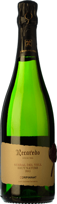 32,95 € Free Shipping | White sparkling Recaredo de Finca Serral del Vell Brut Gran Reserva 2008 D.O. Cava Catalonia Spain Macabeo, Xarel·lo Bottle 75 cl. | Thousands of wine lovers trust us to get the best price guarantee, free shipping always and hassle-free shopping and returns.