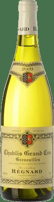 79,95 € Free Shipping | White wine Régnard Grenouilles A.O.C. Chablis Grand Cru Burgundy France Chardonnay Bottle 75 cl