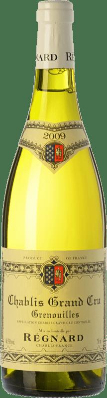 78,95 € Free Shipping | White wine Régnard Grenouilles A.O.C. Chablis Grand Cru Burgundy France Chardonnay Bottle 75 cl