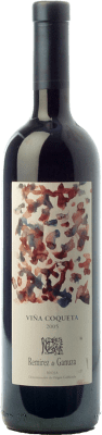 35,95 € Kostenloser Versand | Rotwein Remírez de Ganuza Viña Coqueta Reserva 2008 D.O.Ca. Rioja La Rioja Spanien Tempranillo, Graciano, Viura, Malvasía Flasche 75 cl