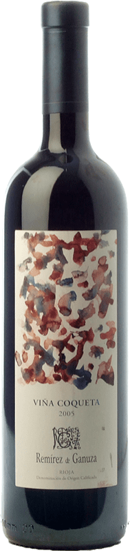35,95 € Free Shipping | Red wine Remírez de Ganuza Viña Coqueta Reserva D.O.Ca. Rioja The Rioja Spain Tempranillo, Graciano, Viura, Malvasía Bottle 75 cl