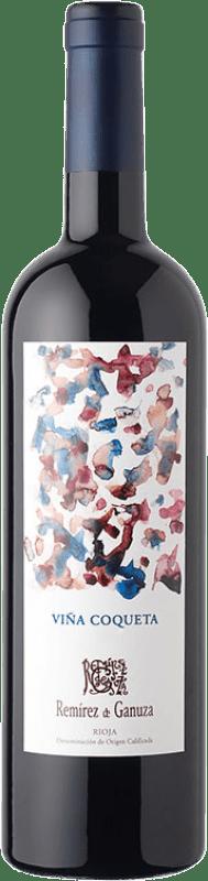 35,95 € Envío gratis | Vino tinto Remírez de Ganuza Viña Coqueta Reserva D.O.Ca. Rioja La Rioja España Tempranillo, Graciano, Viura, Malvasía Botella 75 cl