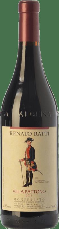 19,95 € Free Shipping   Red wine Renato Ratti Villa Pattono D.O.C. Monferrato Piemonte Italy Merlot, Cabernet Sauvignon, Barbera Bottle 75 cl